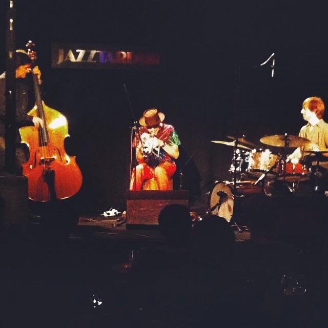 Arranca una nova edició del #jazztardor de Lleida a lo grande amb Jerry Gonzalez aka el Pirata del Caribe  #lleida #igerslleida #jazz #jaç #tardor #jerrygonzalez #javiercolina #calle54